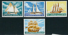 FRENCH POLYNESIA 1977 SAILING SHIPS (Scott 296-99 complete) VF MNH