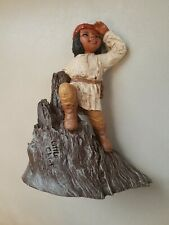 """Vintage Martha Holcombe Figurines #53 """"Little Chief"""", Great Condition !"""