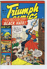 Triumph Comics #5 Bell Features Canadian Edition