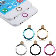 Hot Metal Home Button Ring Circle Cover Sticker Skin For Apple iphone 5S 6 6Plus