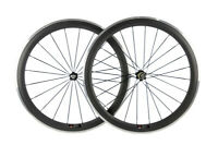 38/50/60/80mm Clincher Carbon Wheelset Road Bike Alloy Brake Surface 700C Wheels