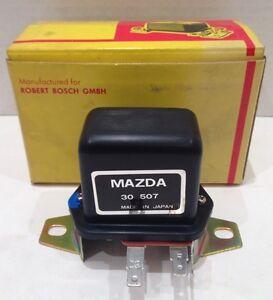 NOS Bosch Voltage Regulator For Vintage Mazda RX2 RX3 Part# 30507