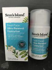 Sven's Island Natural Remedies Fresh Face- Renewal Moisturiser BN Kanuka Honey