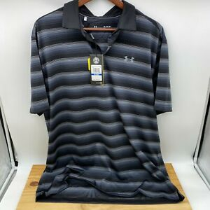 NEW XL Mens Under Armour Coolswitch Bermuda Polo Golf Shirt 1298947 001