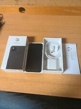 Google Pixel 4a GA02099-US - 128GB - Just Black (Unlocked) (Single SIM)