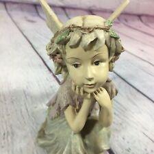 "Fairy Figurine Statue Resin Decorative - 5"" Tall / Mythical Fantasy Magic"