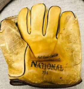 1940's Leather Joe DiMaggio Model Baseball Glove