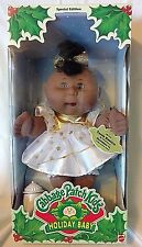 Cabbage Patch Kids Holiday Baby NEW IN BOX African black special edition Dec 11