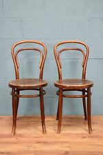 Pair of Thonet style bentwood chairs (100344)