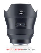 Zeiss Batis 2,8/18 plenamente formato AF (e-Mount) - Sony Alpha objetivamente