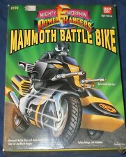 NIB Mighty Morphin Power Rangers Mammoth Battle Bike Motorcycle Black Ranger 93