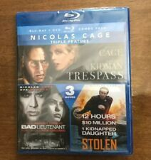 Nicolas Cage Triple Feature Blu-ray AND DVD
