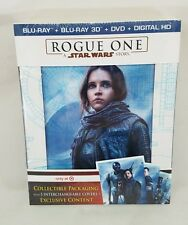 A Star Wars story Rogue One! Target Exclusive 3D 2D Blu-ray DVD Digital Copy New