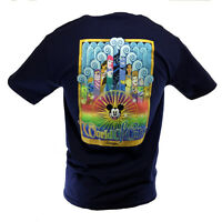 DISNEY World of Color Men's T-Shirt Mickey Toy Story Nemo Lion King Aladdin Dory