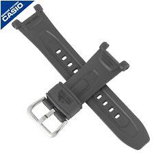 CASIO Genuine Casio Watch Strap Band for PRG-240-8 PRG 240 PRG240 DARK GREY GRAY