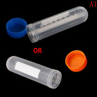 10X 50ml Plastic Centrifuge Tube 2_7e Vial Lab Test Container With 4 Bottom 2_7