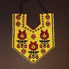Kuchi Tribe BellyDance Ats Central Asia Beaded Necklace 811c7