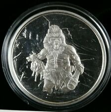 1 OZ .999 Silver proof Frost Giant Nordic Creatures 2nd in series Beast bigfoot