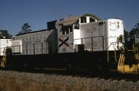 CHATTAHOOCHEE INDUSTRIAL Railroad Locomotive 115 Original 1983 Photo Slide