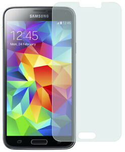 HARD TEMPERED GLASS SCREEN GUARD PROTECTOR CRACK SAVER FOR SAMSUNG GALAXY S5