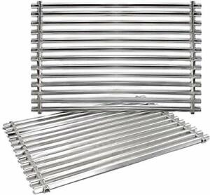 Replacement BBQ Cooking Grill Grates for Weber Genesis Spirit Stainless Steel...