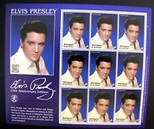 ELVIS PRESLEY 25TH ANNIVERSARY EDITION MNH OG (SEE NOTE)