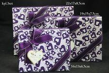 De almacenamiento Decorativo Regalo christmastrinket Cajas Set De 3 Corazones