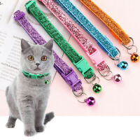 UK Adjustable Pet Collar Necklace with Bell for Small Pet Dog Puppy Kitten Cat