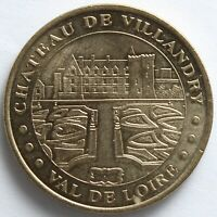 JETON MDP CHATEAU DE VILLANDRY 2000