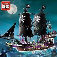 Enlighten Pirates Caribbean 1313 Black Ship Building Block Toys Compatible
