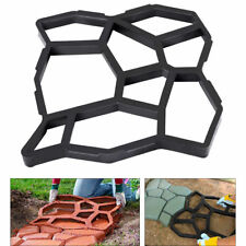 Patio Driveway Concrete Stepping Stone Path Walk Maker Paving Pavement Mold