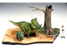 TAMIYA Chasmosaurus DIORAMA SET (60101) Dinosauro Kit in Plastica