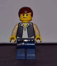 Lego Star Wars Minifigure Han Solo #4501 Millennium Falcon Authentic USA Seller