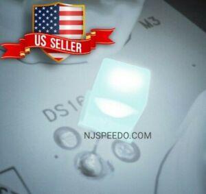 20ct 12V 14V White 5mm LED's with Resistor, Chevy GM Gauge Cluster speedometer