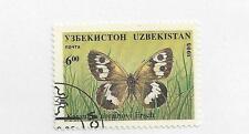 UZBEKISTAN - 80 - 85 - USED - 1995 - BUTTERFLIES