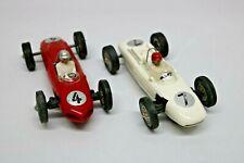 2 Slotcars Rennwagen Rot und Weiß