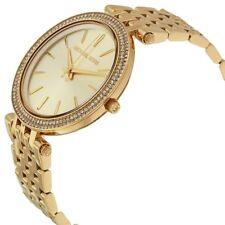 Michael Kors Darci MK3191 Darci Glitz Gold Dial Pave Bezel Ladies Watch