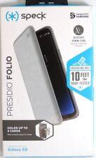 Speck - Presidio FOLIO Card Slot Wallet Case for Samsung Galaxy S9 - Gray