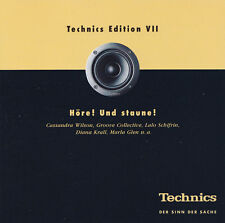 TECHNICS EDITION VII ( Vol.7 ) - CD - Höre ! Und staune ! - VARIOUS ARTISTS