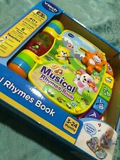 Vtech Baby Musical Rhymes Book. Bnib.
