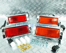 FRONT & REAR SIDE MARKER LAMP LIGHT RED - AMBER MAZDA RX3 RX4 929  808 12A