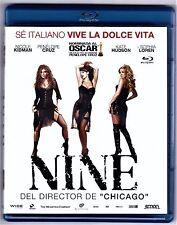 NINE de Rob Marshall con Nicole Kidman BLU-RAY Tarifa plana en envío España 5 €