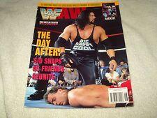 WWE Wrestling Magazine June 1995 Kevin Nash Shawn Michaels