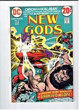 DC NEW GODS #11 Darkseid appearance 1972 Vintage Comic