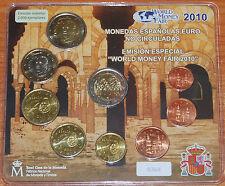 Spain 2010 coin set BU WMF Berlin 2 Euros Cordoba / Spanien KMS España Cartera
