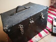 Antique Engineers Cabinet & Tools, Metalworking, Stub Files, Cutters, See Photos