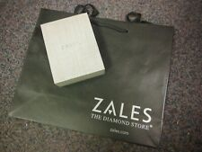 New Zales the Diamond Store Jewelry Gift Box for Necklace and Earrings/Bag!