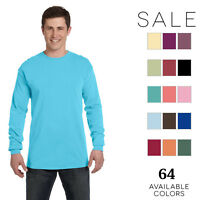 Comfort Colors Men's Ringspun Garment-Dyed Long-Sleeve T-Shirt C6014 S-4XL