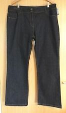 Indigo, Dark wash L30 Jeans NEXT Regular Size for Women