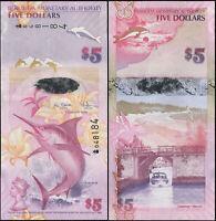 Bermudes 5 Dollars. NEUF 01.01.2009 Billet de banque Cat# P.58a